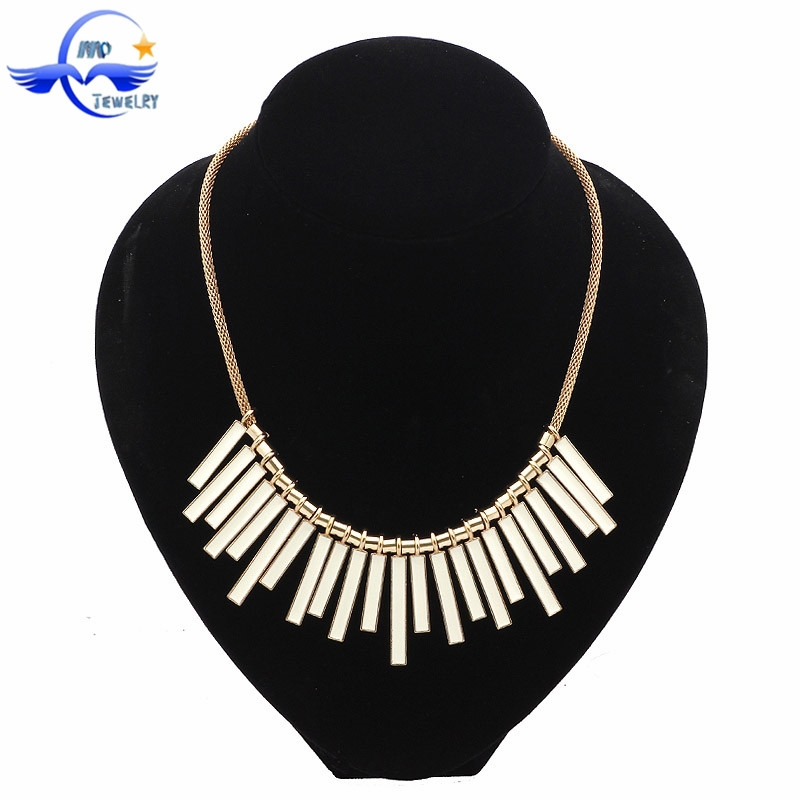 2015 Fashion Jewelry Wholesale Handmade Colorful Thin Chain Necklace Accessories For Women