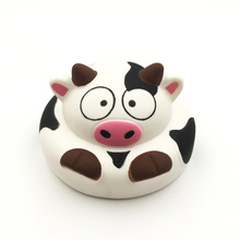 China Factory Supplier High Quality Soft Slow Rising Mini Milk Dairy Cow Keychain Kids Squishy Toys With Good Smell