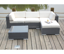 Deluxe quality Garden Outdoor rattan furniture set Used Hotel Patio Furniture
