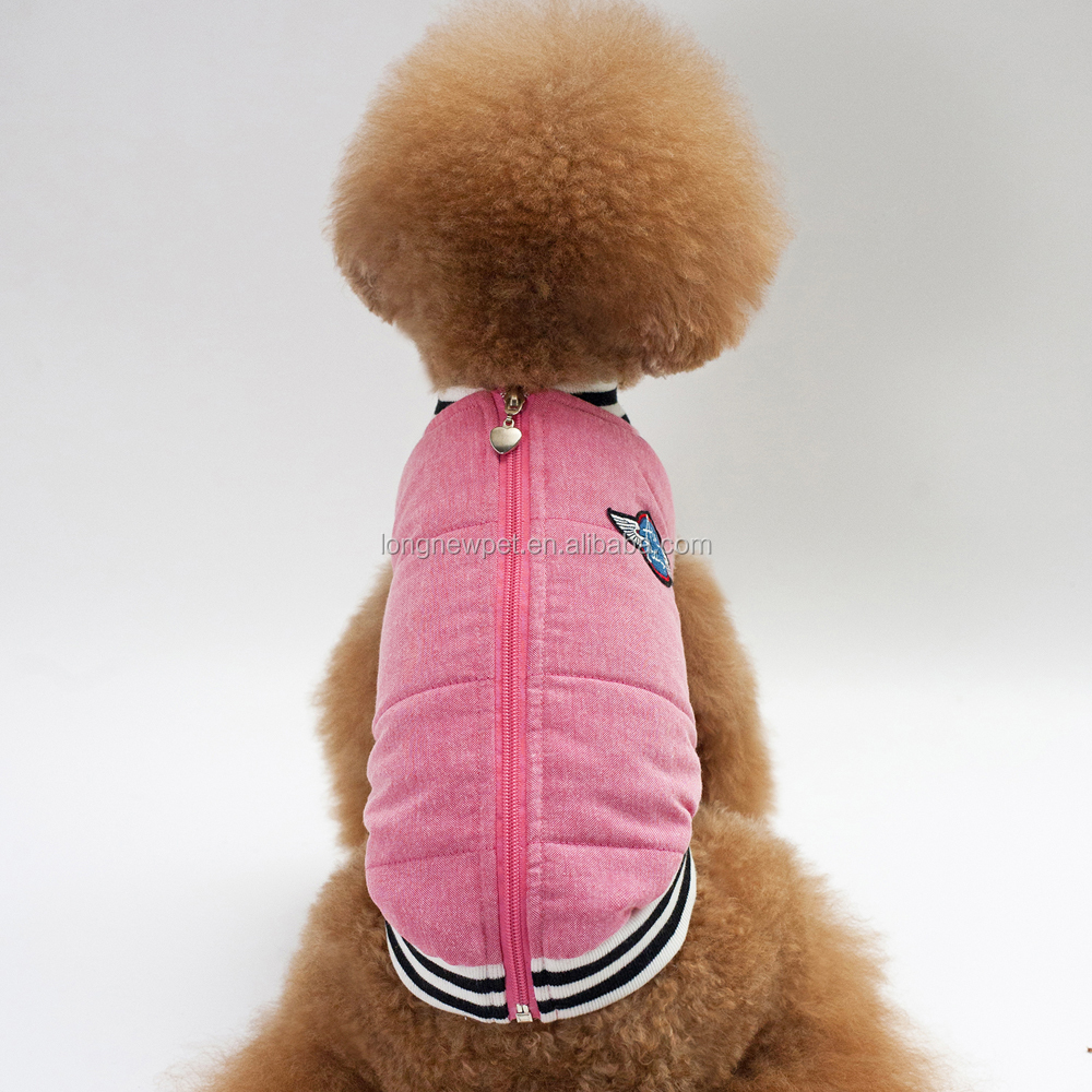 High Quality Dog Winter Vest Clothes S XXL Various Size for Choose