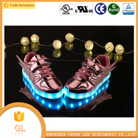 Latest design for casual shoes Simulation kids led shoes,led shoes kids,led light up kids shoes