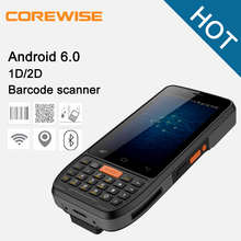 Cheap city call android mobile phone 4g rugged phone with 1d 2d barcode scanner