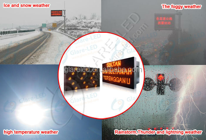 2016 ITS Road Safety Traffic Control Vehicle Mounting LED Sign Board Dynamic Variable Message Signs