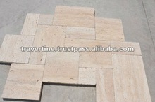 Tumbled Travertine Pavers
