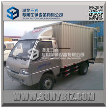 1T 2T 3T Forland 4x2 china light truck mini box diesel mini van truck
