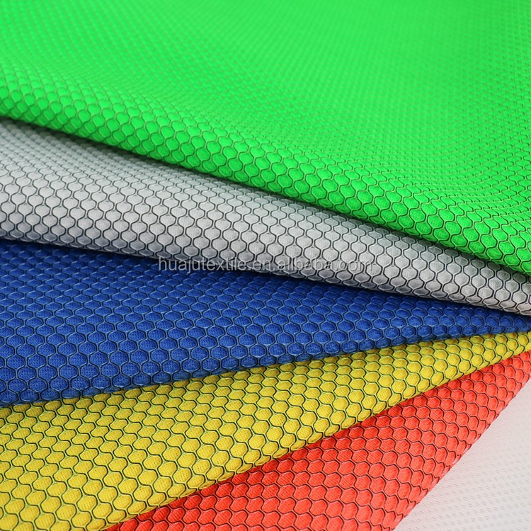 Poly Spandex 3D Air Mesh 100 Polyester Knit Fabric For Shoes