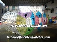 Professional manufacturer inflatable water roller, water zorb balls