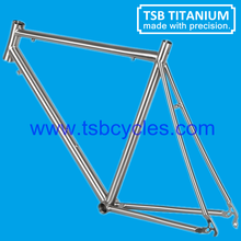 titanium cyclocross bicycle frame /oem cheap aero titanium frame road bicycle