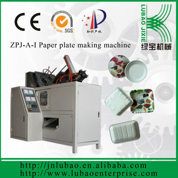 good quality,high speed paper plate machine for food