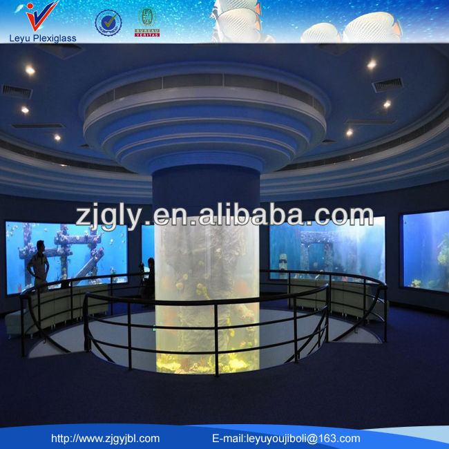 Large acrylic fish tank for aquariums hotels and offices for How to build an acrylic fish tank
