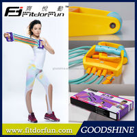 Factory Direct Sale Home Exercise Equipment Multi-functional Adjustable Chest Expander Kit