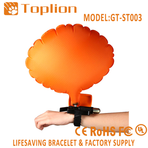 New design Wearable Portable self rescue bracelet inflate balloon for Adult Kids New Swimmers Drowning Prevention