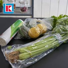 Hot sale recyclable polythene shopping HDPE food bag on roll with printing