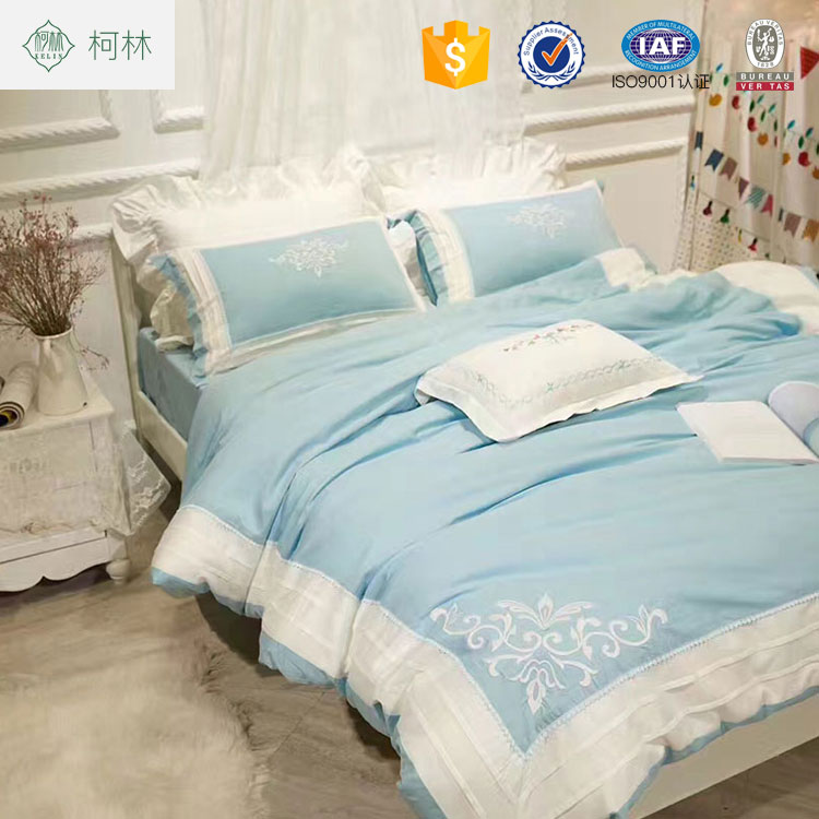 Ben 10 home textile cotton luxury embroidered home bedding sets