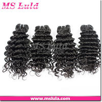 popular can be bleached cheap price custom labels different types of curly weave hair