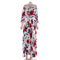 Hot Selling Women Floral Long Sleeve Autumn Winter Lady Maxi Dress,women casual dress