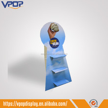 Corrugated Indoor Shoes Advertising Display Standee for Store Retail Sale