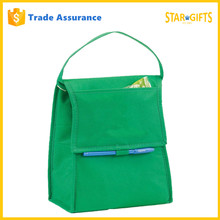 Alibaba China Supplier Custom Functional Plain Color Funky Lunch Bags