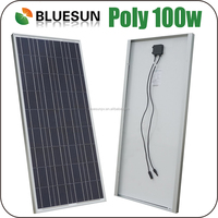 Bluesun 12v poly 50w 60w 70w 80w 90w 100w solar power system use solar panel shenzhen