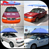 Aluminum Frame Material dog pet car roof cover tent awning for allibaba com