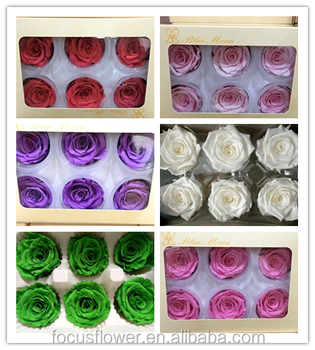 Decorative preserved flowers A grade wedding occasion preserved roses