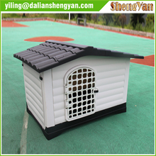 Basics two-door top-load plastic dog kennel