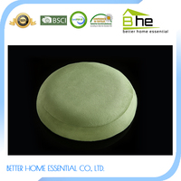 High Density Molded Memory Foam Therapy round seat cushion with holes
