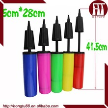 HT high pressure plastic hand air pump for balloon