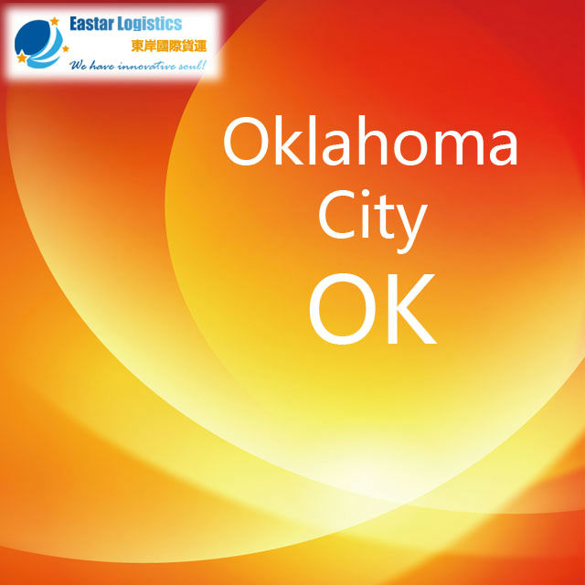 Air freight forwarder to Oklahoma city
