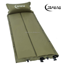 Outdoor 190T Polyester Camping Pad Inflatable Air Mat