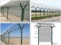 air port/jail razor wire and barbed wire protective screening