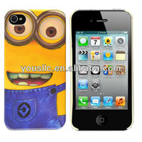 Despicable Me Minions Hard Mobile Phone Case Cover For iphone 4