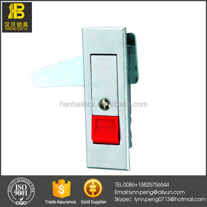 MS603-1R Electric Cabinet Panel Latch Lock Push Button Durable Cabinet panel Lock