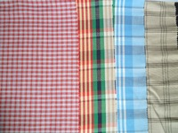 linen/rayon Yarn Dyed/ Stripe/Check/Plaid Shirting Fabric