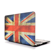 Floral Coated Laptop Notebook Hard Shell Case for Macbook