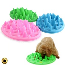 new design pet products silicone slow feed dog bowl eating slow fancy pet bowl