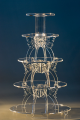 5 tier butterfly wedding cake stand (CS-U-697)