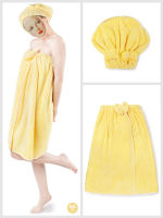 Cut Pile 100% Polyester Bath Towel Dress