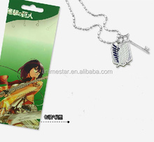 Attack on Titan/ Shingeki no Kyojin anime Necklace