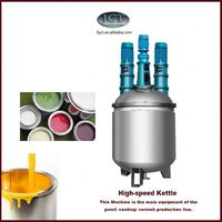 emulsion paint formulation production machinery