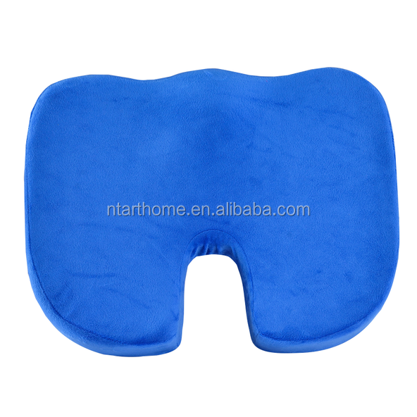 Good quality memory foam buttock massage seat cushions for elderly