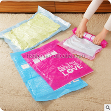 High quality travel clothing vacuum compressed bag