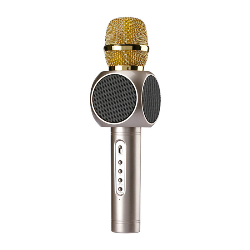 New Arrival E103 Wireless Karaoke Bluetooth USB Microphone for all Smartphone