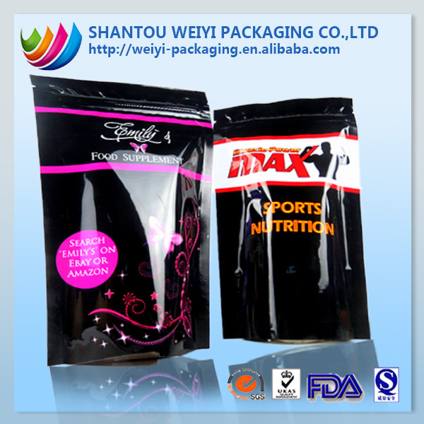 New arrival flexo stand up bottom air tight food packaging