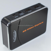 1080P Full HD Video Game Capture Recorder HD/Component video R/L Audio Input, HD/USB Output, Save into USB Flash/HDD