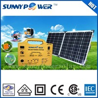 Sunny power foldable solar panel solar power system to generate electricity for home