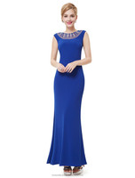 Ever-Pretty Women's Sapphire Sexy Long Prom Dress HE08445SB
