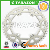 motorcycle transmission parts motorcycle rear sprocket for suzuki