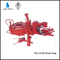 "2 3/8""- 41/2"" tubing Power Tong with three jaw backup tong"