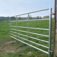 Galvanized models of gates and iron fence